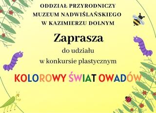 Kolorowy Świat Owadów