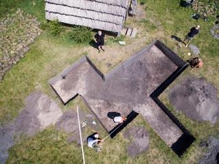 Badania wykopaliskowe na osadzie północnej w Żmijowiskach w roku 2020