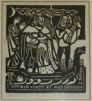 Dzieje Tristana i Izoldy – drzeworyty Jadwigi Prandoty Trzcińskiej