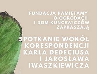 100. urodziny Karla Dedeciusa w Domu Kuncewiczów